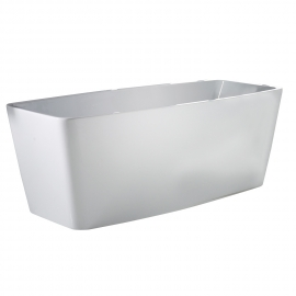Frontline Cube2 1690 x 695mm Freestanding Bath