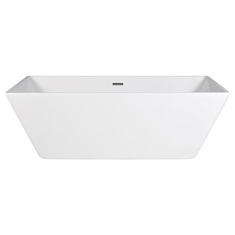 Frontline Kubix 1695 x 800mm Freestanding Bath
