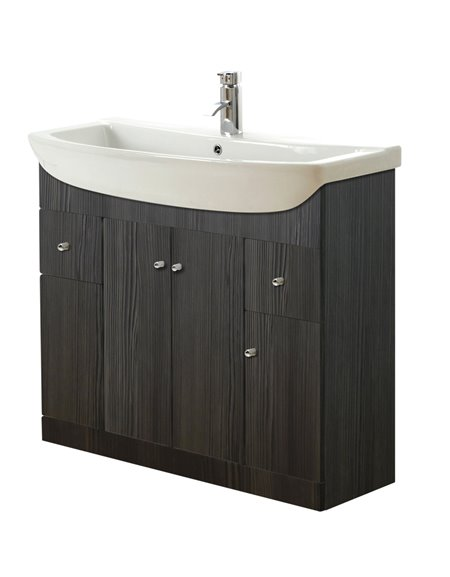 Aquapure 1050mm Vanity Unit & Basin - Avola Grey