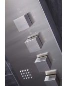 Losan Thermostatic Shower Panel with Built-In Massage Jets