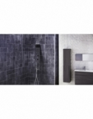 Cubix Thermostatic Shower Panel with Built-In Massage Jets & Water Blade
