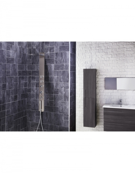 Modique Thermostatic Shower Panel with Movable Massage Jets