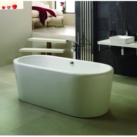 Frontline Rondo 1765 x 805mm Freestanding Bath