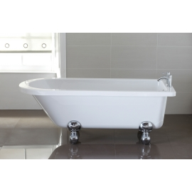 April Bentham 1700 x 750mm Freestanding Bath - Single Ended