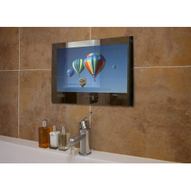 "LG Black Finish 24"" Waterproof Bathroom TV"