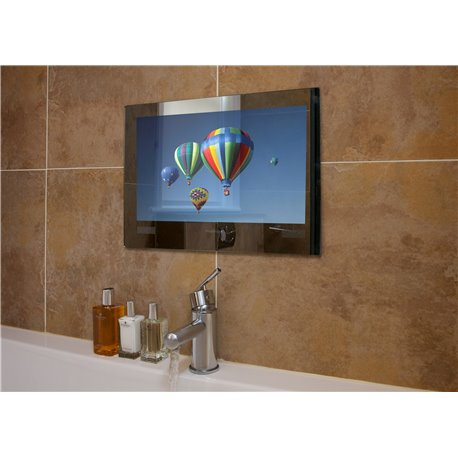tv mirrors for bathroom frontline proofvision mirror finish 24 quot waterproof 21064