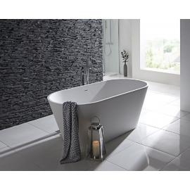 Frontline Aquanatural Stone 1700 x 700mm Freestanding Bath
