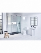 Vibe Black Concealed 2-Way Shower Valve