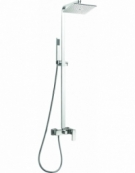 Cube Thermostatic Shower Column