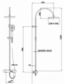 Dream Thermostatic Shower Column