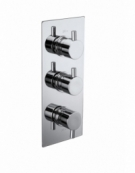 Pure Triple Concealed Thermostatic 2-Way Shower Valve