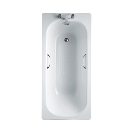 Frontline Steel 1700 x 700mm Gripped Antislip Bath