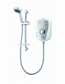 T100r 8.5kW Slimline Electric Shower - White/Chrome