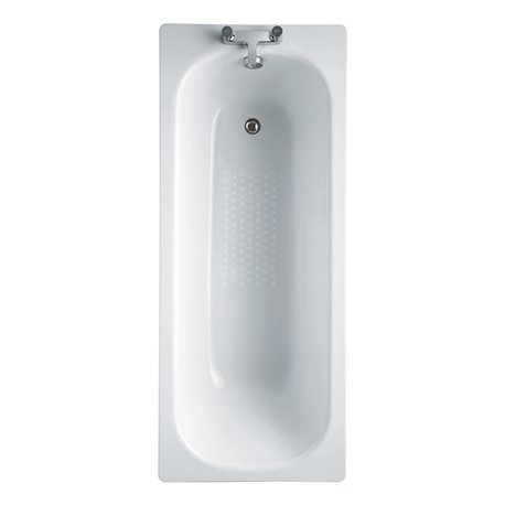 Frontline Steel 1700 x 700mm Ungripped Antislip Bath
