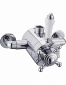 Edwardian Exposed Thermostatic 1-Way Shower Valve