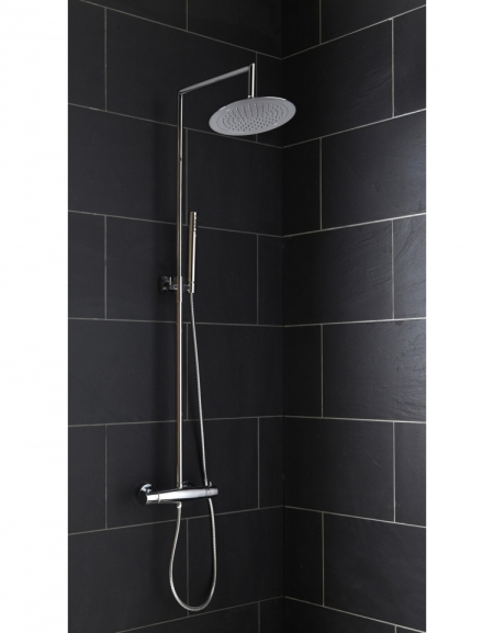Lausanne Thermostatic Shower Column
