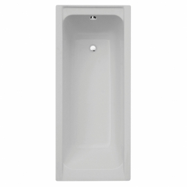 Frontline Linear 1600 x 750mm Plain Bath