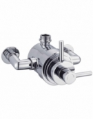 Modern Exposed Thermostatic 1-Way Shower Valve