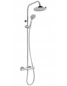 Eden Round Exposed Thermostatic Shower Valve with Set