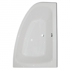 Frontline Cloud 1500 x 1000mm Offset Corner Bath