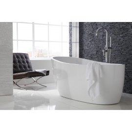 Frontline Pano 1800 x 800mm Freestanding Slipper Bath