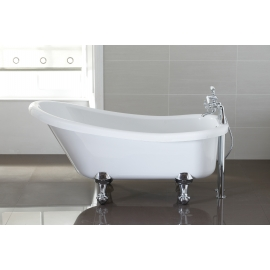 April Eldwick 1500 x 750mm Slipper Freestanding Bath