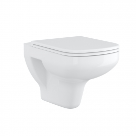 Frontline Ballini Wall Hung WC with Soft Close Seat