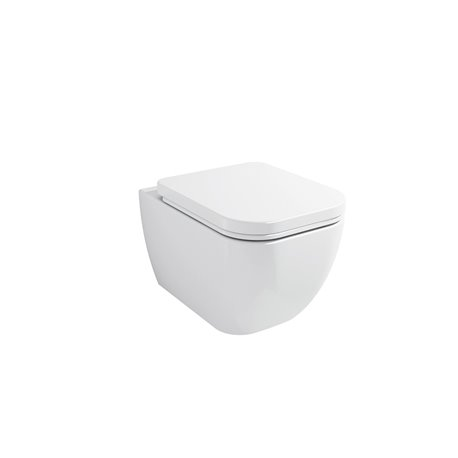 Frontline Adella Wall Hung WC with Soft Close Seat