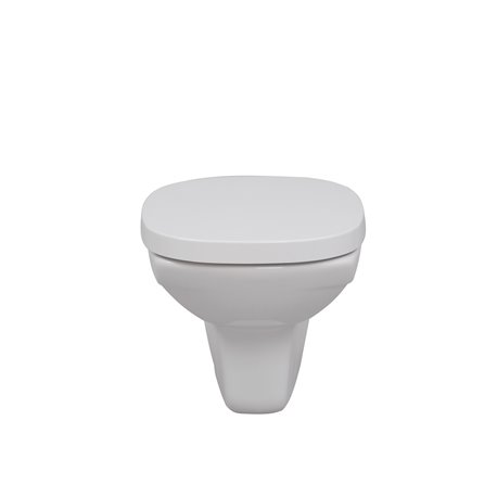 Frontline Athena Wall Hung WC with Soft Close Seat