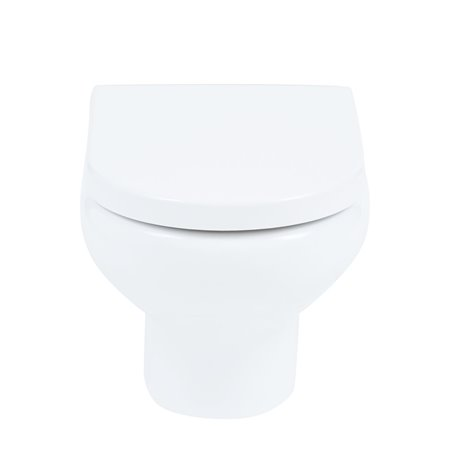 Frontline Compact Wall Hung WC with Seat