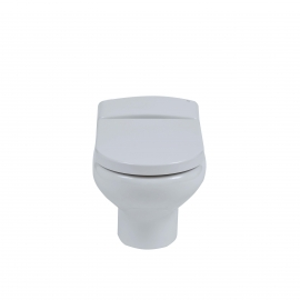 Frontline Compact Rimless Wall Hung WC with Soft Close Seat