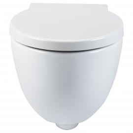 Frontline Garda Wall Hung WC with Soft Close Seat
