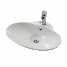 Frontline Geona 635 x 505mm Countertop Basin
