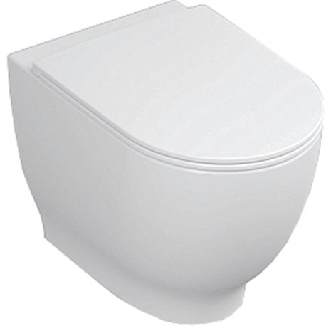 Frontline Harmony Back To Wall WC with Soft Close Seat