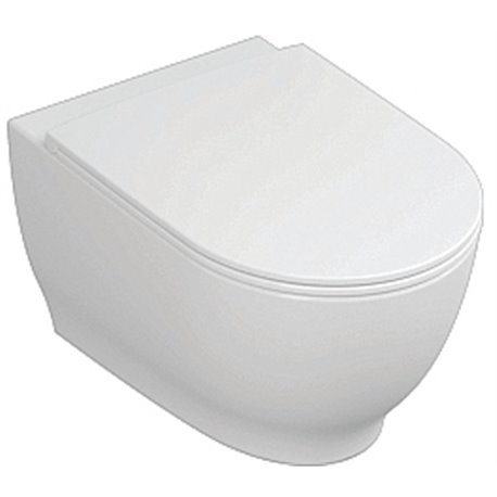 Frontline Harmony Wall Hung WC with Soft Close Seat
