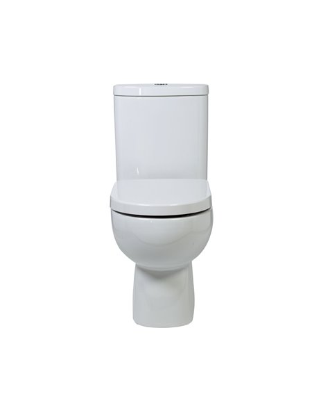 Frontline Luna Flush To Wall WC with Soft Close Seat
