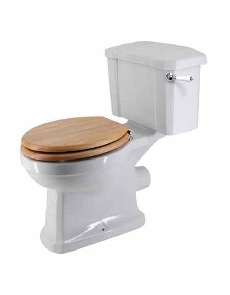 Frontline Holborn Standard WC with Luxury Wooden Soft Close Seat
