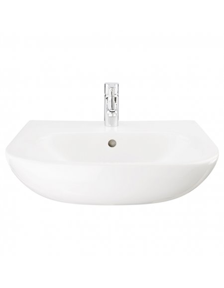 Frontline Luna 520mm Semi-Recessed Basin