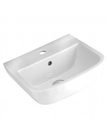 Frontline Series 600 400mm Hand Basin (2 Tap Hole)