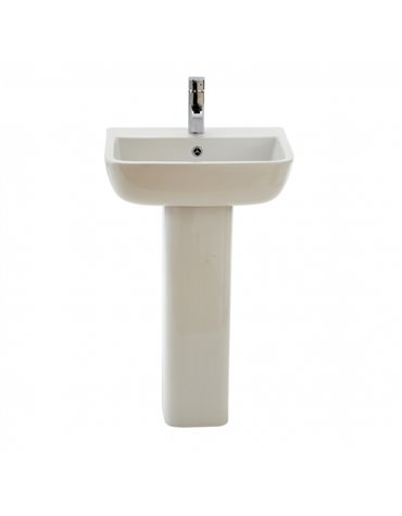 Frontline Series 600 520mm Basin (1 Tap Hole)