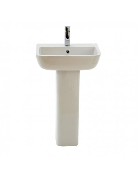 Frontline Series 600 520mm Basin (2 Tap Holes)