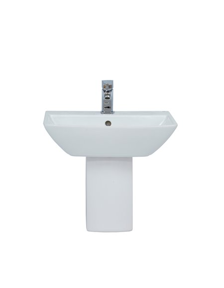 Frontline Summit 500mm Semi-Recessed Basin