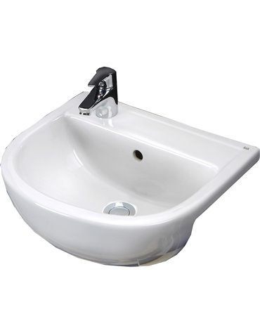 Frontline Compact 450mm Semi-Recessed Basin
