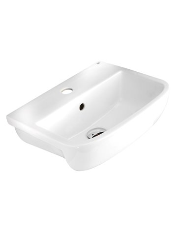 Frontline Metro 520mm Semi-Recessed Basin