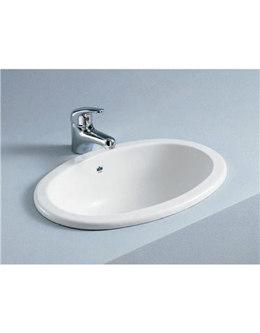 Frontline Lily 465mm Inset Basin