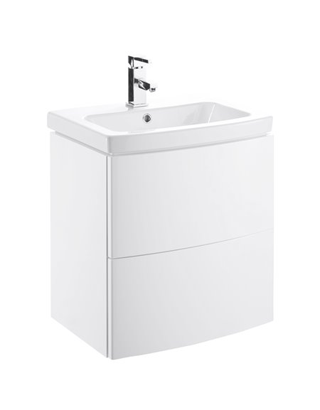 Frontline Razor 550mm Wall Hung Basin Unit (with Basin)