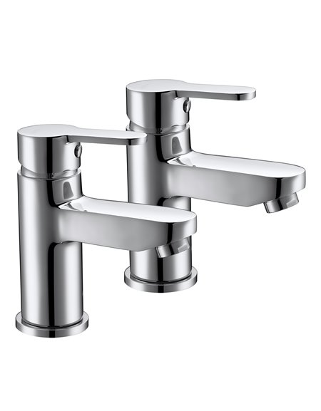 Frontline Luna Bath Pillar Taps