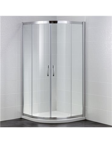 Frontline Identiti2 1000 x 1000mm 2 Door Quadrant Enclosure
