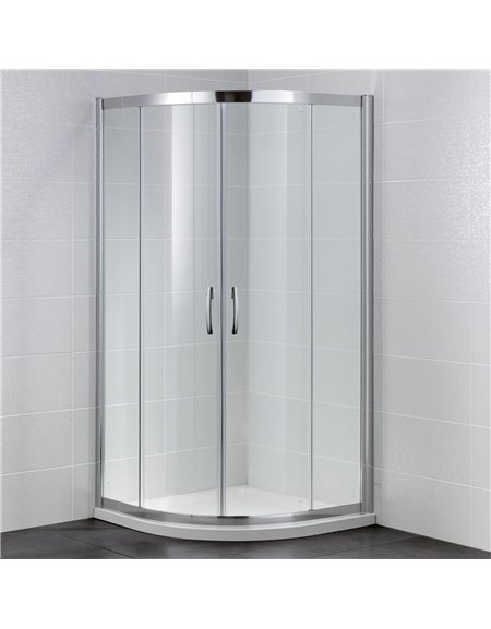 Frontline Identiti2 1000 x 800mm 2 Door Quadrant Enclosure