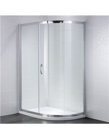 Frontline Identiti2 1000 x 800mm 1 Door Quadrant Enclosure